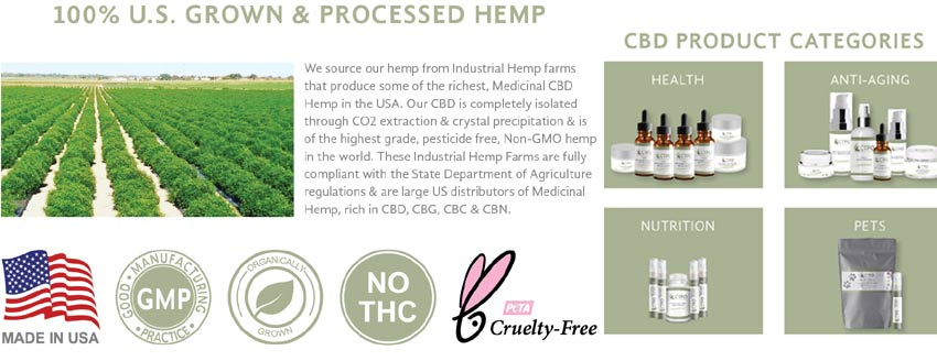 CTFO CBD Hemp Oil Drops & Products